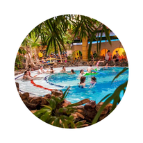 Vakantieparken met een subtropisch zwembad
