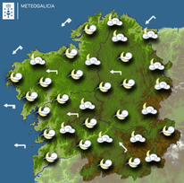 Previsión meteorológica para la noche del 19/03/2019.