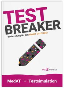 Test-Breaker 2020/2021, eine komplette Testsimulation für den MedAT, Buch