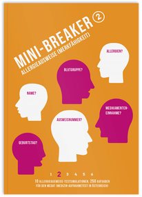 Mini-Breaker 17, Allergieausweise (Geädchtnis- und Merkffähigkeit), MedAT Übungen, Buch