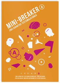 Mini-Breaker 17, zwei kognitive Testsimulationen für den MedAT, Buch