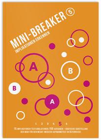 Mini-Breaker 17, Implikationen erkennen, MedAT Übungen, Buch
