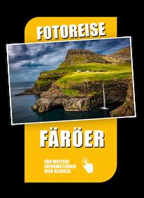 Fotoreise Färöer,