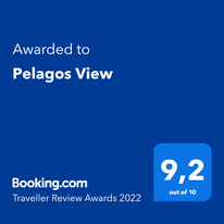 Review award for Pelagos View, Nea Iraklitsa, Kavala