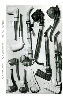 Assortimentsblad firma Theodor Lamp, ca 1950-1970