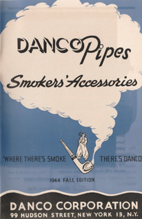 Danco Pipes Smokers' Accessories 1944 fall edition