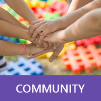 Button: Community