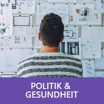 Button: Politik & Gesundheit