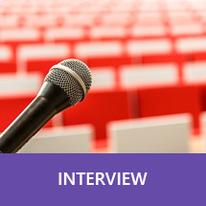 Button: Interview