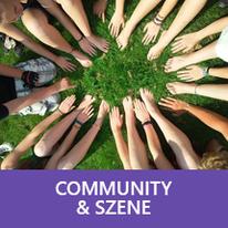 Button: Community & Szene