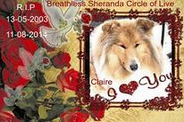 Claire: 13-05-2003 / 11-08-2014