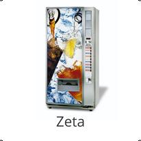 N&W Zeta Kaltgetränkeautomat / NECTA  & WITTENBORG