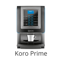 N&W KORO PRIME Kaffeemaschine / NECTA  & WITTENBORG