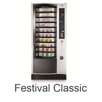 N&W Festival Classic Food- & Snackautomat / NECTA  & WITTENBORG