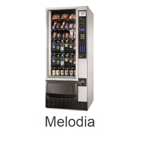 N&W Melodia Food- & Snackautomat / NECTA  & WITTENBORG