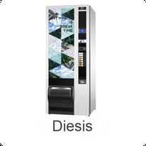 N&W Diesis Kaltgetränkeautomat / NECTA  & WITTENBORG