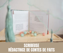 Scribeuse - Rédactrice de contes de faits