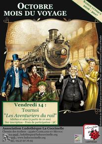 illus. Julien Delval pour Les aventuriers du rail, Days of Wonder (c)