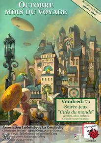 illus. Mathieu Leyssenne pour Metropolys, Ystari (c)