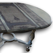 Möbel mit Serviettentechnik bearbeiten, großes Format