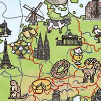 Geografie | Lernpuzzle