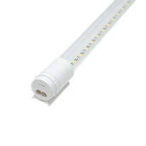T8 LED INTEGRADO CRISTAL 9W
