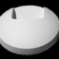 LUMINARIO DE CORTESIA LED. BLANCO, 2W, 90-260Vca, IP54, 3000K, D100x36mm, MODELO DL-ADE-403 DILAE
