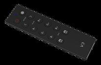 V3-RGB - Descripción: Control Remoto RGB, una Zona, para controlador R4-5A o R4-CC. Señal RF hasta 30m - Voltaje de Operación: Baterías