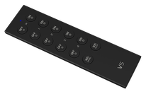 V5-D - Descripción: Control Remoto de atenuación, 4 Zonas, para controlador R4-5A o R4-CC. Señal RF hasta 30m - Voltaje de Operación: Baterías