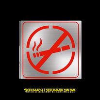 LETRERO LED PROHIBIDO FUMAR DILAE