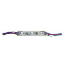 Módulo 3 LEDs SMD5050 Exterior RGB, 72W, 12V, DIM. 75*15*5mm DILAE