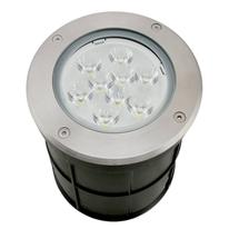 Empotrado Piso LED Integrado 12w, 3000K, D150x130mm, 100-277Vca, Modelo DL-ADE-208 DILAE