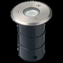 Empotrado Piso LED Integrado 1W, 6000K, D75x100mm, 100-240Vca, Modelo DL-ADE-203