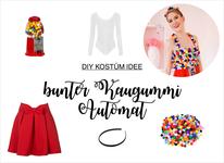 Buntes Kostum Im M M Stil Selber Machen Partystories Blog