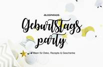 Bild: DIY Party Deko zum selber machen vom DIY Deko Blog Partystories - Geburtstag feiern Ideen als Blogparade