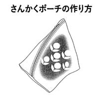 製図 レシピ さんかくポーチ 作り方 横浜コットンハリウッド