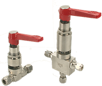 Hoke Valves Spring Return Handle, Hoke spring return, Hoke 71-serie ball valve, Hoke 71-serie spring return, spring return valve