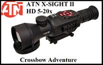 Nachtsicht-Zielfernrohr ATN X-Sight II 5-20x50