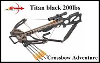 Armbrust PoeLang Titan black, X-Bow Titan black