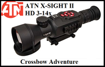 Nachtsicht-Zielfernrohr ATN X-Sight II 3-14x50