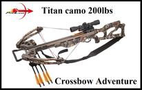 Armbrust PoeLang Titan camo 200lbs, X-Bow Titan camo