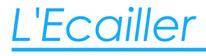 logo de la poissonnerie traiteur L'écailler