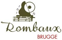 logo de disques Rombaux à Brugge