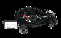 Set di cavi elettrici specifici per il veicolo per camper e furgoni.