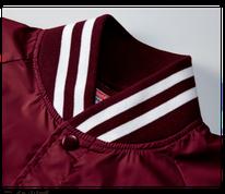 お得な個人ネームパックのジャンパー7054の襟元