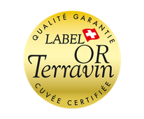 Logo du Label d'Or Terravin, cuvée certifiée