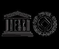 Logo du Patrimoine mondiale géré par l'Unesco