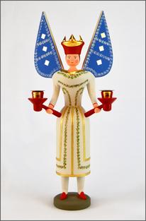 Tradition, Engel, Beinengel Clara, traditionell, historischem Vorbild, Brotteig, Erzgebirge Volkskunst, traditionelle