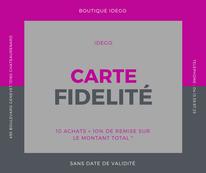 Diego deco chateaurenard carte de fidélité client