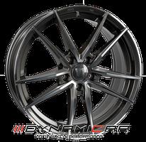 V1 Wheels V3 Daytona Grau poliert